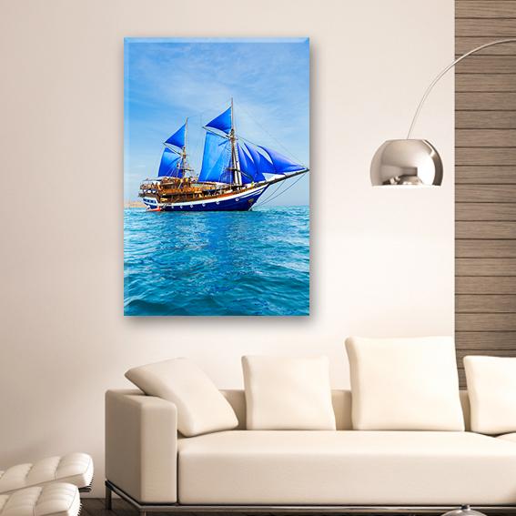 tablouri canvas printate barci