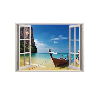 autocolant perete ferestre stickere ieftine 3d